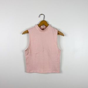 Forever 21 pink turtleneck sweater women's medium